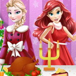 Ariel Christmas Cooking