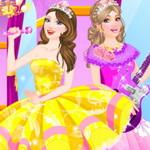 Barbie And Popstar Dress Up
