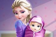 Elsa Baby Birth Caring