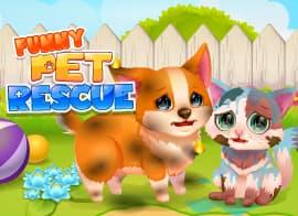 Funny Rescue Pet