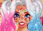Harley Quinn Face Care and Make