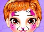 Little Princess Anna Face Painti