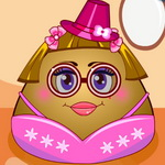 Pou Girl Dress Up