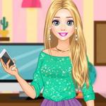 Rapunzel Modern College Fashion